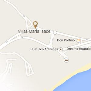 Mapa Villas María Isabel